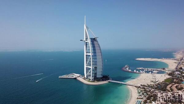 Cocktails au Burj Al Arab 7*