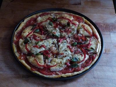 Blog de charlottopoire :Charlottopoire... mes petites créas..., Tarte à la tomate