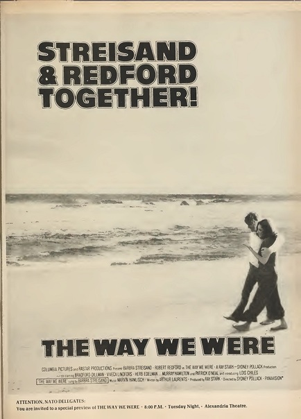 THE WAY WE WERE BOX OFFICE USA 1973