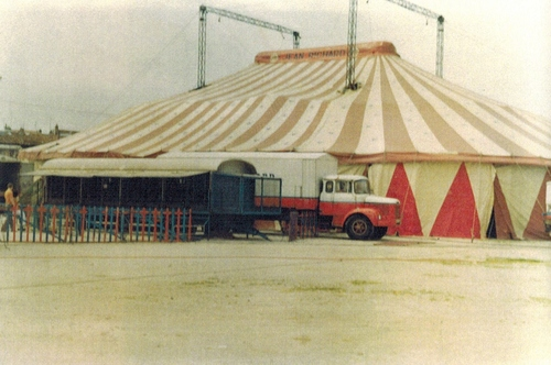 le cirque Jean Richard en 1979 à Verdun ( photos Guy Wolff)