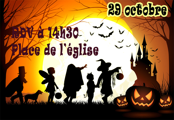 Halloween samedi 29 octobre