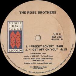 The Rose Brothers - Freeky Lover