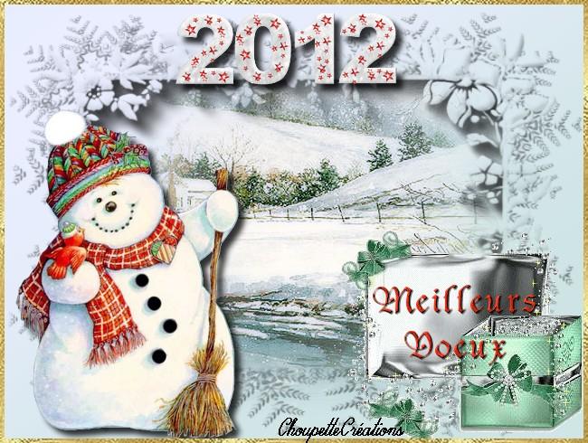 Défi ;bonhomme de neige