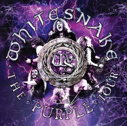 WHITESNAKE - Sortie du CD/DVD/Blu-ray live The Purple Tour en Janvier