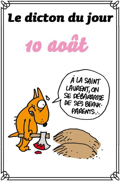 """Résultat de recherche d'images pour """"10  aout humour"""""""