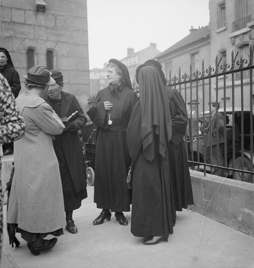 Paris. Reportage sur les Antoinistes - Fonds Marcel Cerf-1935-1936 #4