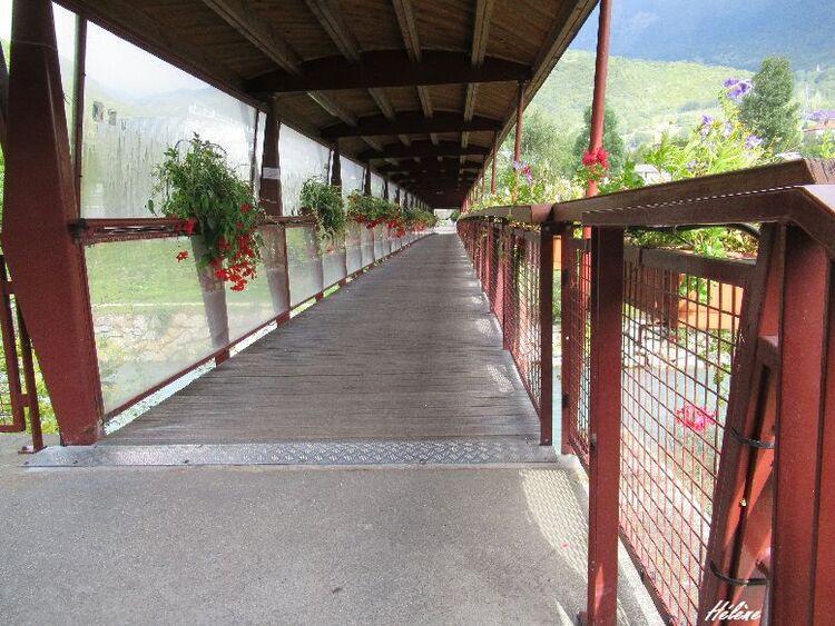 Un petite promenade à travers le parc de la station