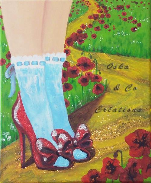Les chaussures magiques de Dorothy