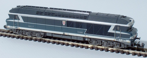 La CC 72080, blasonnée Mulhouse