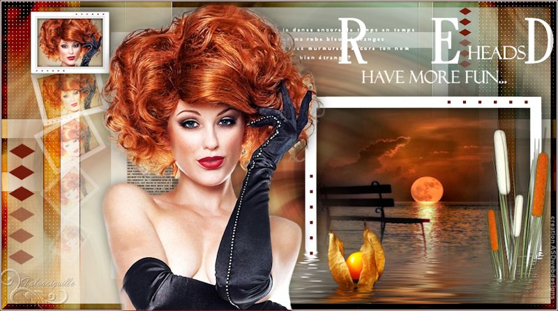 *** Red heads Have more fun ***