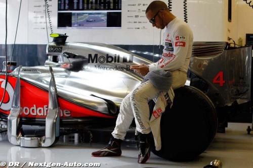 Hamilton va négocié ses trophés avec McLaren