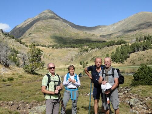 Balade dans le massif du Carlit (club de randonnée des Htes Corbières)