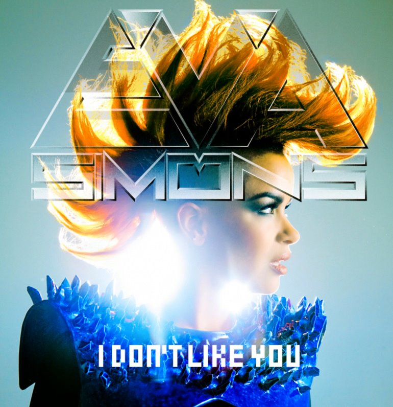 "Eva Simons publie un nouveau single ""I Don't Like You"""