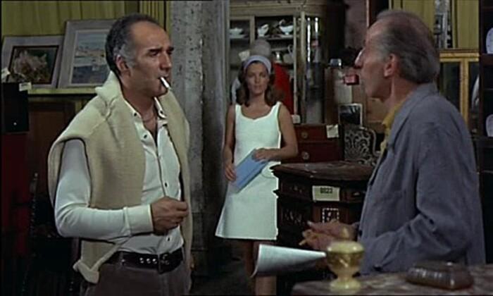 ROMY SCHNEIDER- MICHEL PICCOLI- LES CHOSES DE LA VIE-1970