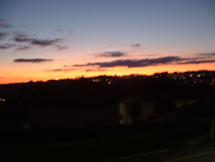 Quand le ciel d'un soir nous gâte