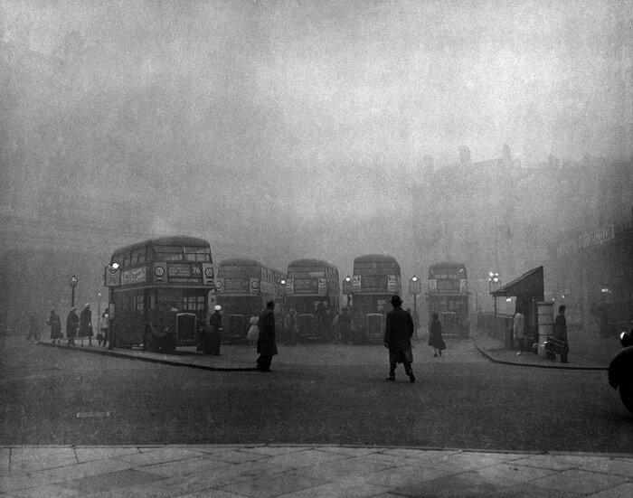 Catastrophes Étranges - Le Grand Smog De Londres En 1952