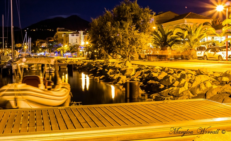 Corse : Propriano de nuit