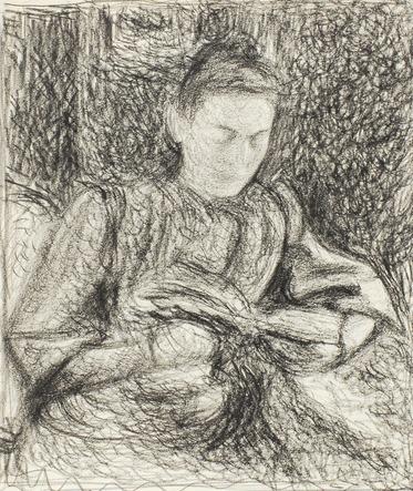01 - Les femmes  lisant - Dessins et gravures
