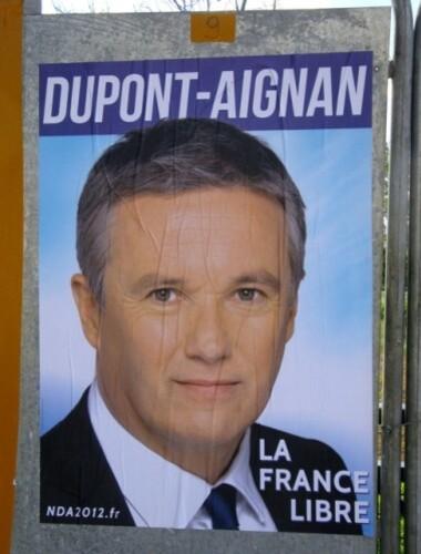 affiches officielles élection présidentielle