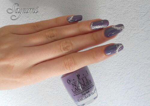 Nail Art Dentelle
