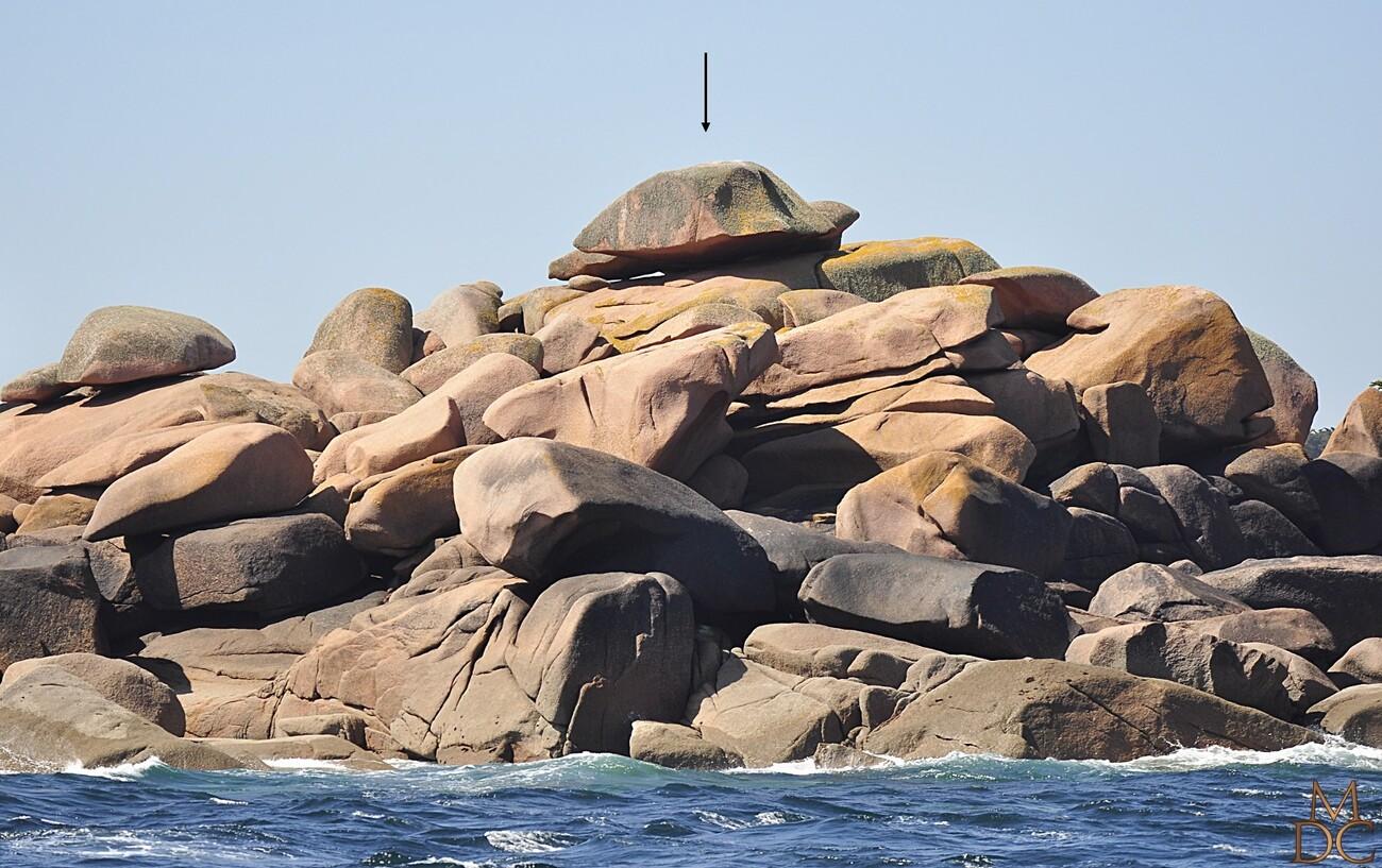 Rochers remarquables côte de granit rose