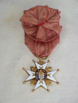 L'ordre royal et militaire de Saint Louis....