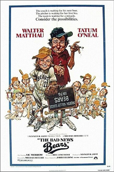 THE BAD NEWS BEARS USA BOX OFFICE1976