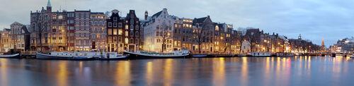 Amsterdam, la nuit...