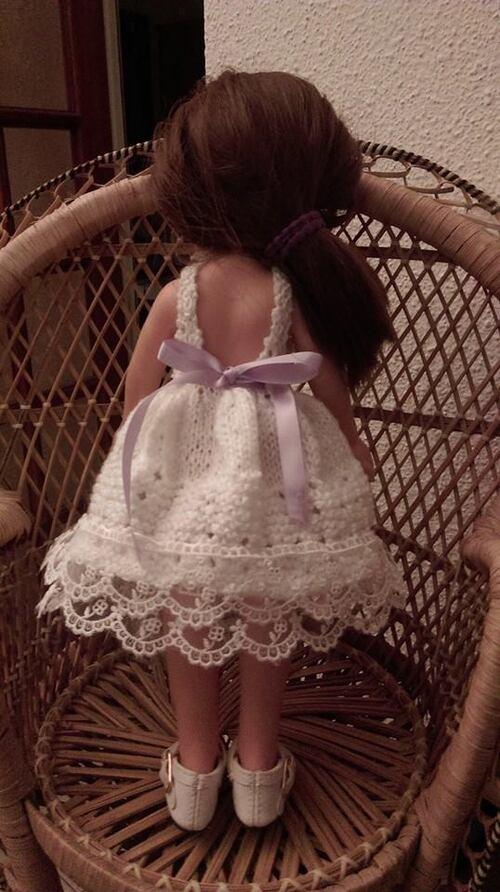 deux nouvelles robes pour poupee paola reina