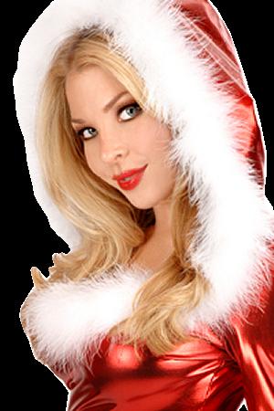 fête de noel - sexy mère noel - cute santa's girl