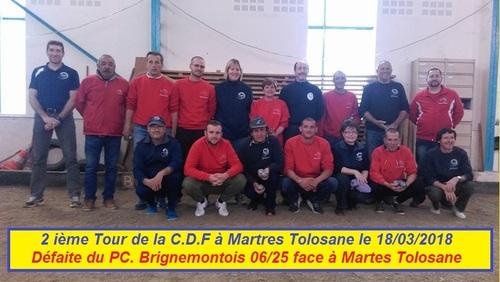 LES TOURS EN COUPE DE FRANCE DU PC BRIGNEMONTOIS