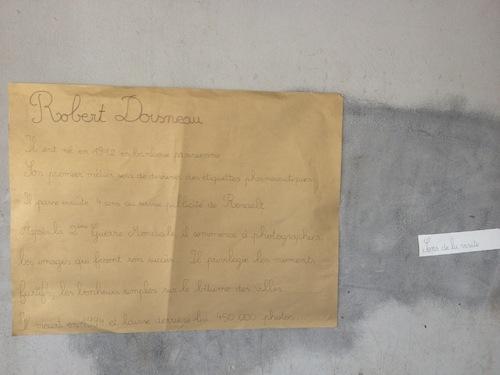 Exposition Projet Robert Doisneau