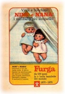 FURGA  MINIBABY Bebè NANA Pub