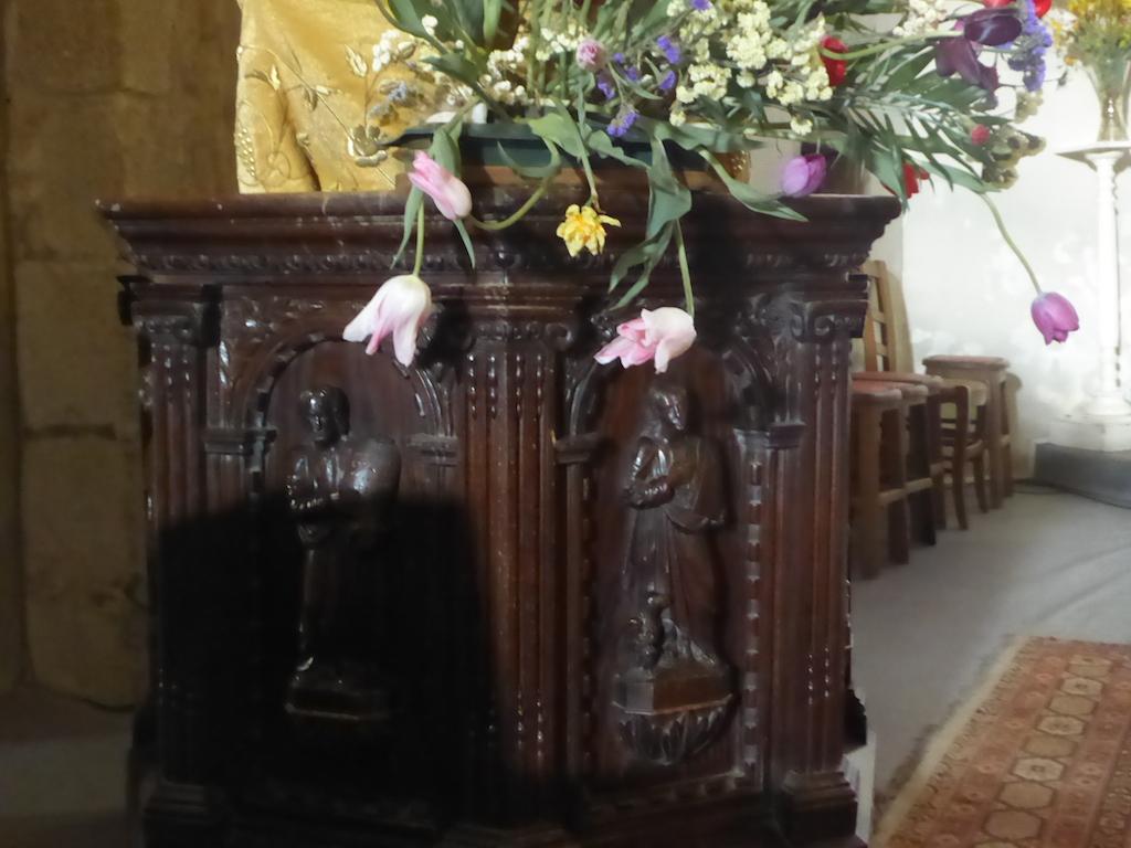 L'église de Champagnac le Vieux.
