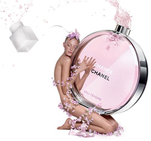Elle adore son parfum