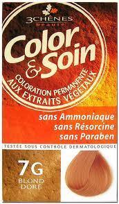 Color & Soin Les 3 Chênes 7G Blond Doré