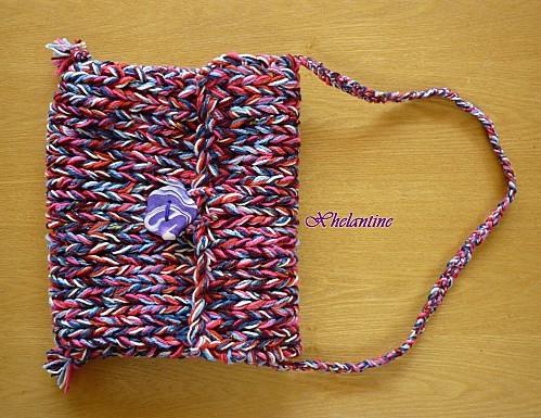 sac laine devant