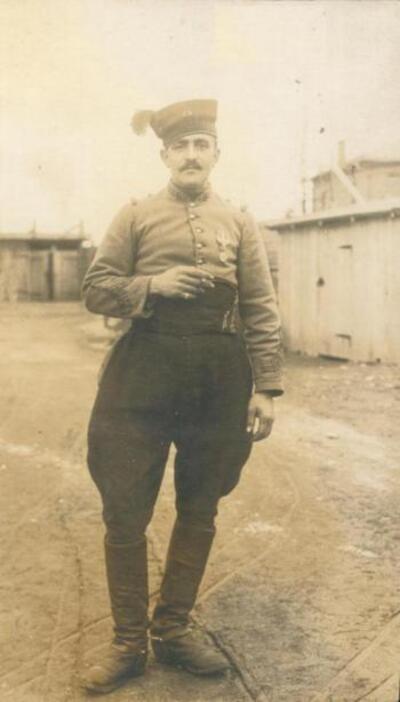 un zuavu in 1911 : Ziu Michè