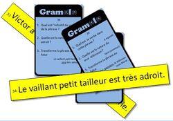Jeu de grammaire en classe entière (CE1) : Gramolo