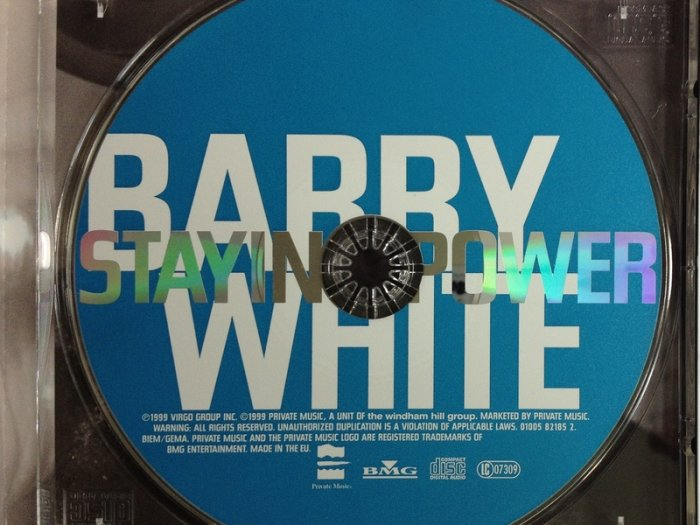 Barry White Staying Power Cd Album For Sale in Leixlip, Kildare from  tuttifrutti