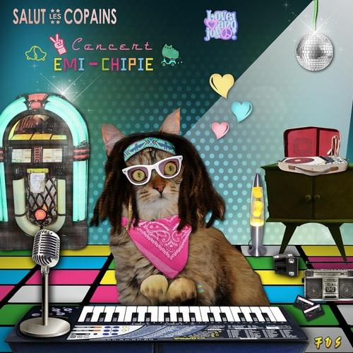 Concert Salut les Copains par Emi-Chipe  LOL