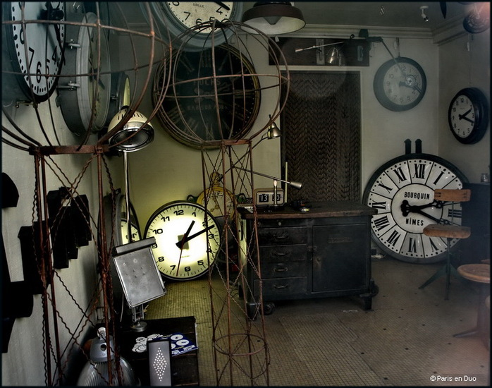 L'horloger de Saint-Ouen