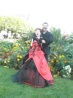 Photos mariage gothique