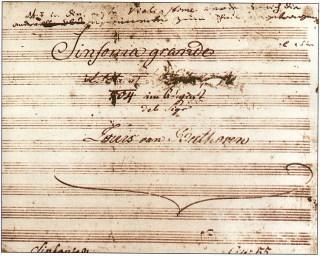 Blog de colinearcenciel :BIENVENUE DANS MON MONDE MUSICAL, LA PREMIERE PAGE ORIGINALE DE LA SYMPHONIE n°3 de LUDWIG VAN BEETHOVEN page 772 et suivantes