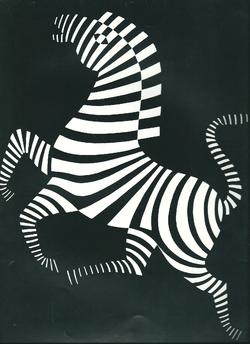 noir et blanc (Vasarely)