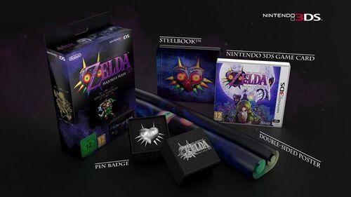 Zelda Majora's Mask 3D annoncé sur 3ds !