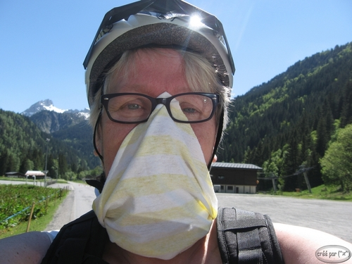 tour de cou snood en mode anti insectivore