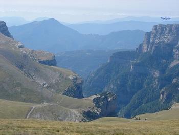 Vers le Sud, la fin du canyon d'Anisclo