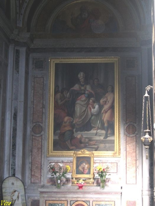 Italie Rome église Sainte-Marie-du-Peuple