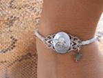 bracelet camée ange